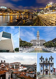 Porto Municipality in Norte, Portugal