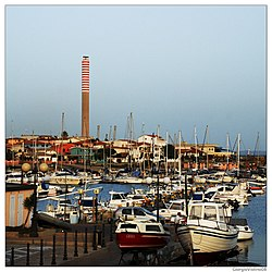 Touristic port of Portoscuso