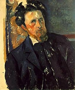Portrait de Joachim Gasquet, par Paul Cézanne, galerie Národní