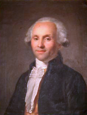 History of communism - Portrait of Victor d'Hupay (c. 1790) first theorician and founder of modern communism