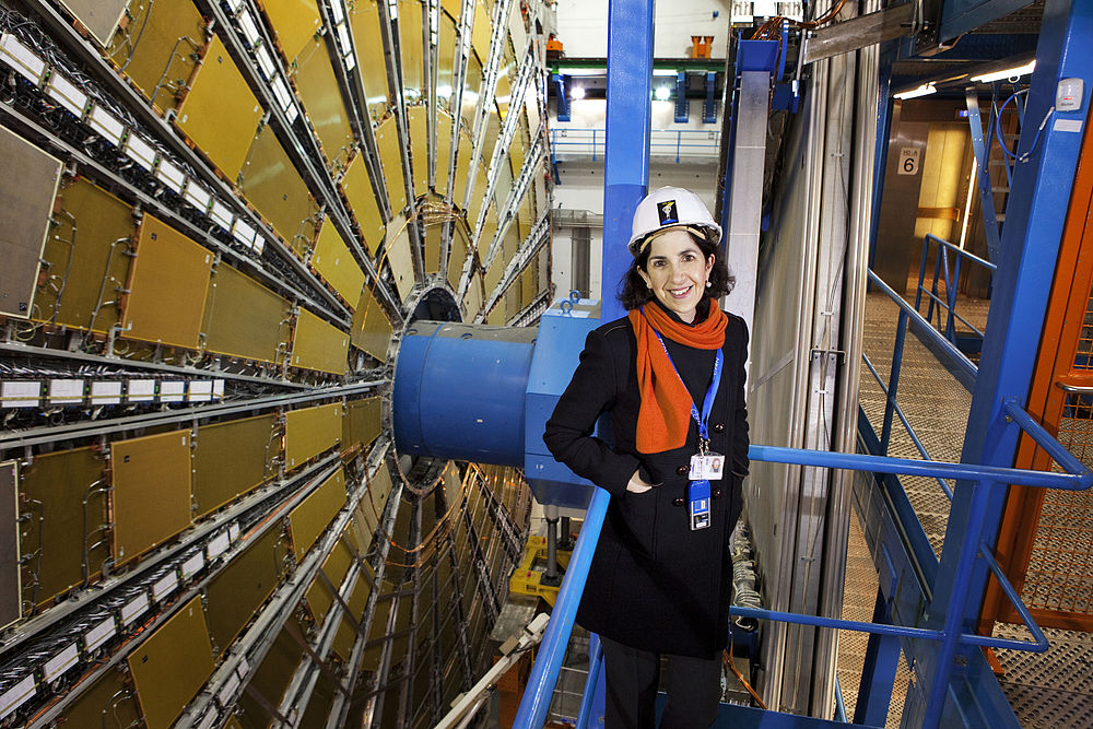 This portrait of Dr. Fabiola Gianotti was taken at CERN when she was head of the ATLAS experiment.