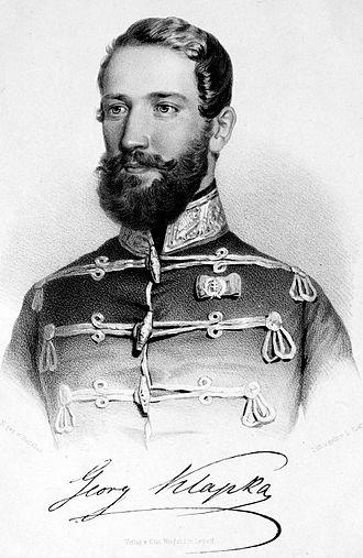 Battle of Tápióbicske - Portrait of György Klapka