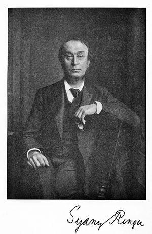 Sydney Ringer - Image: Portrait of S. Ringer. Wellcome M0010501