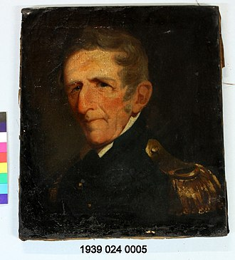 Samuel Hopkins (congressman) - Oil on canvas painting of Samuel Hopkins