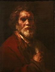 Portrait de vieillard