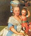 Portret van Carolina Wilhelmina van Oranje en haar kinderen by Anton Wilhelm Tischbein crop.jpg