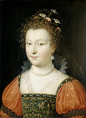 Portrait of a Woman (previously identified as Queen Elizabeth I)