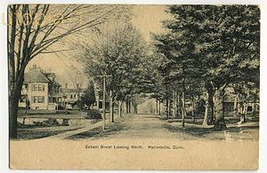 Hazard Powder Company - School Street, looking north, c. 1910