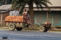 Power tiller with trailer, Bangladesh. (31052201154).jpg