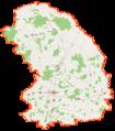 Powiat sokołowski location map.png