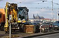 Praha, Nové město, Palackého náměstí, bagr.jpg