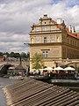 Praha, Staré Město, Novotného lávka, Smetanovo muzeum 01.jpg