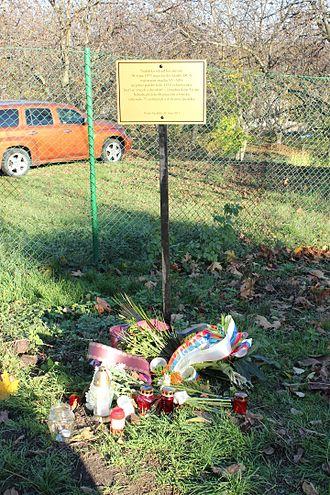 Inex-Adria Aviopromet Flight 450 - Memorial for the victims