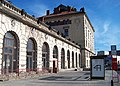 Praha hlavní nádraží, Fantova budova, z Wilsonovy ulice, jižní křídlo.jpg