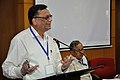 Pramod Kumar Jain Addressing - Opening Session - VMPME Workshop - Science City - Kolkata 2015-07-15 8539.JPG