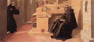 Barbadori Altarpiece - Image: Predella pala barbadori, uffizi, 03