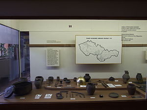 Early Slavs - Sixth-century Slavic artifacts from Bohemia, Moravia and Slovakia in the Prague National Museum