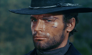 Terence Hill in Preparati la bara! (1968).
