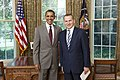President Barack Obama Welcomes Ambassador Olexander Motsyk of Ukraine.jpg