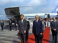 President John F. Kennedy Arrives at Wahn Airport in Bonn, Germany JFKWHP-ST-C230-6-63.jpg