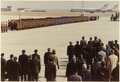President Nixon looks on at Chinese troops upon his arrival to Peking, China - NARA - 194756.tif