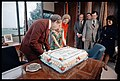 President Richard Nixon Admires His 61st Birthday Cake while Celebrating with Family and Staff Members at the Western White House (01).jpg
