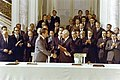 President Richard Nixon and Chairman Nikolai Podgorny shaking hands at the Moscow Summit.jpg