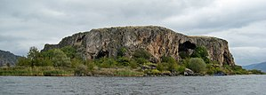 Maligrad - View of the Island