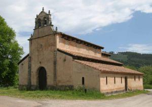 Church of San Salvador de Priesca - Image: Priesca 1