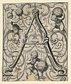 """Print, Panel with the letter """"A"""" from the """"Newes ABC Büechlein"""", 1627 (CH 18569065).jpg"""