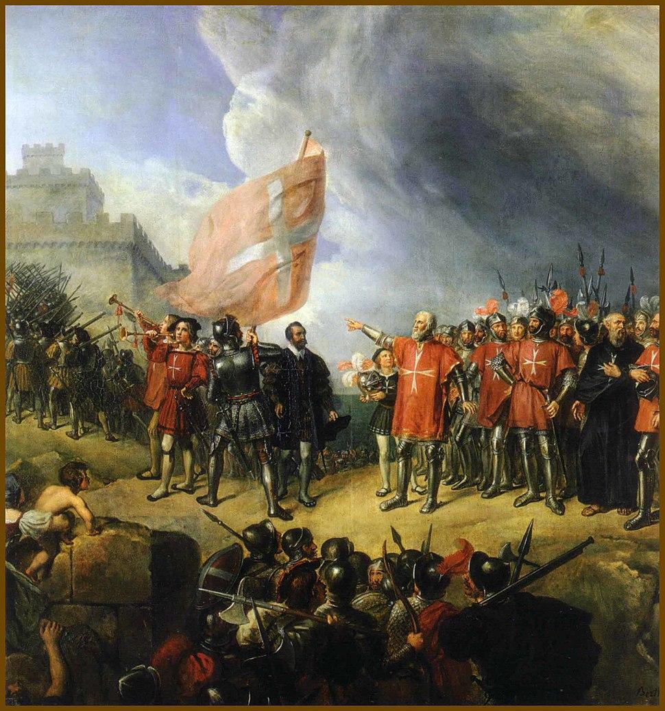 Prise de Malte en 1530