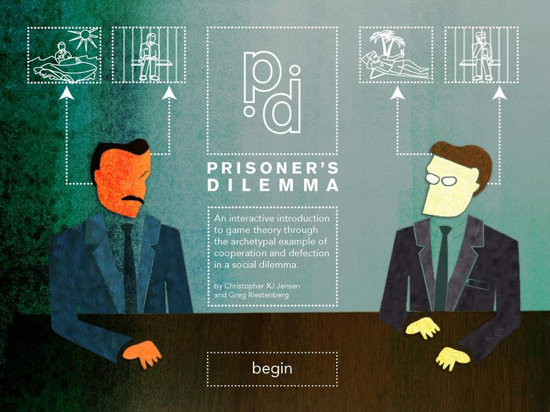 3 what is 'prisoner's dilemma' of Repeated prisoner's dilemma games: in order to see what equilibrium will be reached in a repeated game of the prisoner's dilemma kind, we must analyse two cases: the game is repeated a finite number of times, and the game is repeated an infinite number of times.