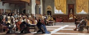 Proclamazione della Repubblica sassarese - Giuseppe Sciuti, 1880 - Sassari, Palazzo della Provincia