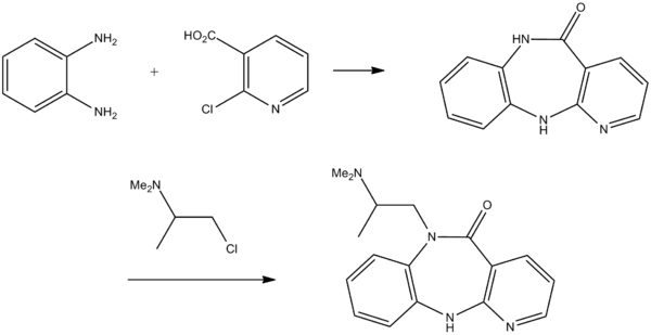 Propizepine synthesis.png