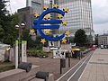 Protest at European Central Bank headquarters, Frankfurt am Main, Germany.jpg