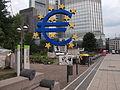 Protest at European Central Bank headquarters, Frankfurt am Main, Germany.jpg