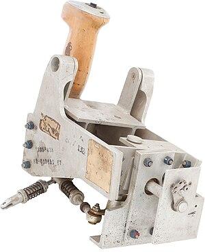 Joystick - A prototype Project Gemini joystick-type hand controller, 1962