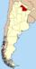 Lage der Provinz Chaco