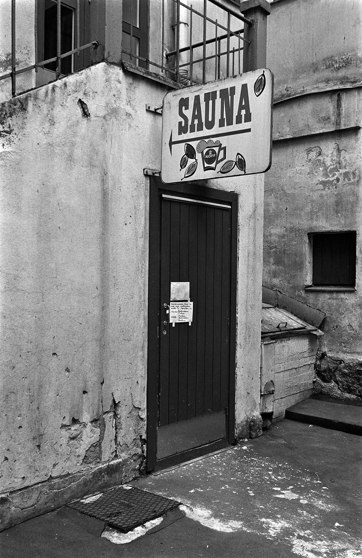 Public Sauna Helsinki