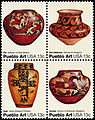 Pueblo Pottery - American Folk Art Series - 13c 1977 issue U.S. stamp.jpg