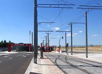 Puerta de Boadilla (Madrid Metro) - Image: Puerta de Boadilla ML3