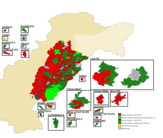2018 Punjab provincial election