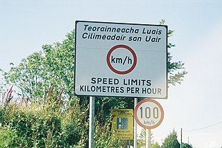 Road speed limits in the Republic of Ireland Overview of road speed limits in the Republic of Ireland