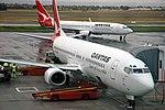 Qantas Airways - Boeing 737 airplane (24 August 2006) (Adelaide Airport, South Australia) 2 (38617705184).jpg