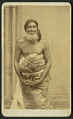 Qara-ni-Valu, blind chief of the Island of Kadavu, photograph by Francis H. Dufty.jpg