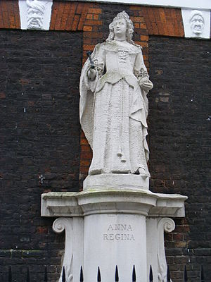 Francis Bird - Image: Queen Anne, Queen Anne's Square