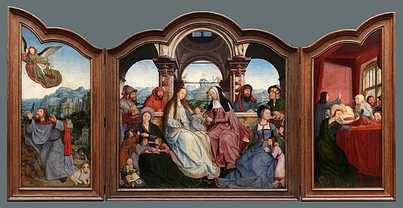 Quinten Metsys - Triptyque de la confrérie de Sainte-Anne à Louvain.jpg