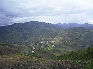 María District - The town of Quizango