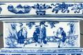 Rökelsekärl ting i porslin med stjärngudarna för ett långt liv, hög rang och lycka, Kangxi - Hallwylska museet - 107707.tif