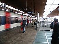 The RER B at La Plaine - Stade de France.
